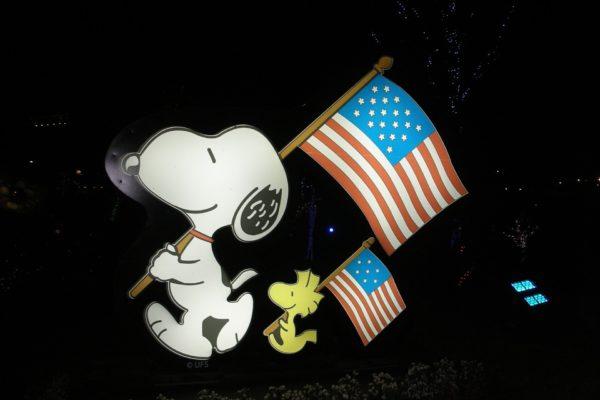 Snoopy Decke